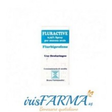 FLURACTIVE SPRAY GOLA MUCOSA ORALE FLURBIPROFENE 0,25% 15ML
