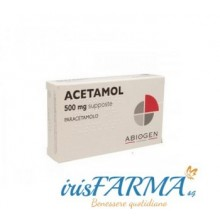 ACETAMOL SUPPOSITORIES FOR CHILDREN 500 MG 10 SUPPOSITORIES