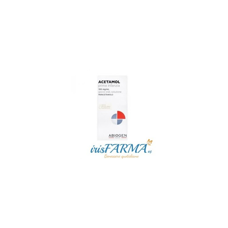 ACETAMOL EARLY CHILDHOOD ORAL DROPS 100MG / ML