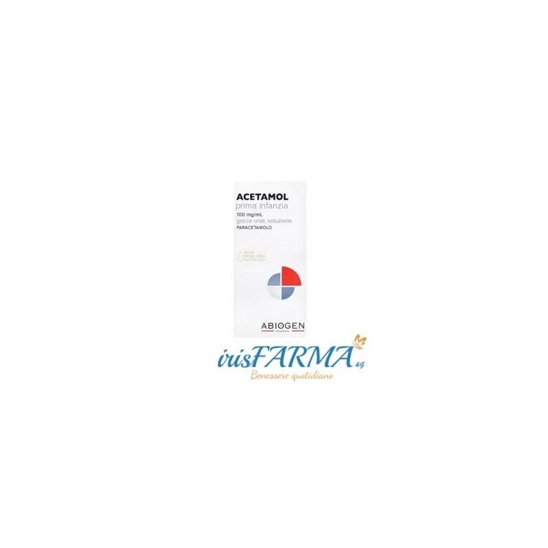 ACETAMOL GOUTTES ORALES DE LA PETITE ENFANCE 100MG / ML