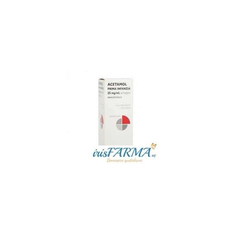 ACETAMOL EARLY CHILDHOOD SYRUP 2.5% 100ML
