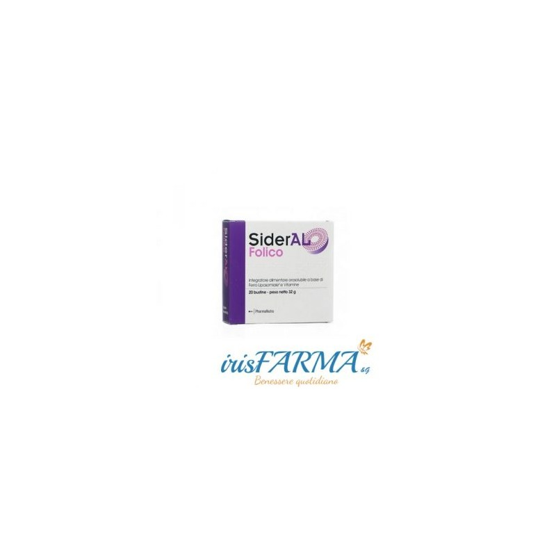 SIDERAL FOLICO 20 GOLD SOLUBLE SACHETS