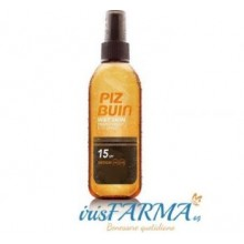 PIZ BUIN TRANSPARENT SOLAR SPRAY WET SKIN SPF15 + 150ML