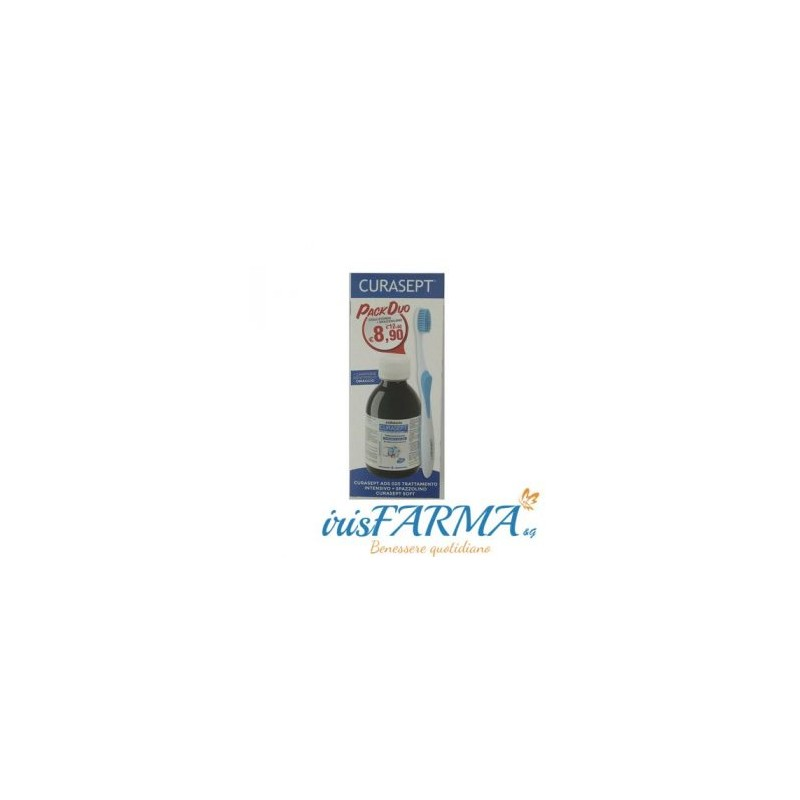 CURASEPT 0,20 INTENSIVE PACK DUO MOUTHWASH AND TOOTHBRUSH