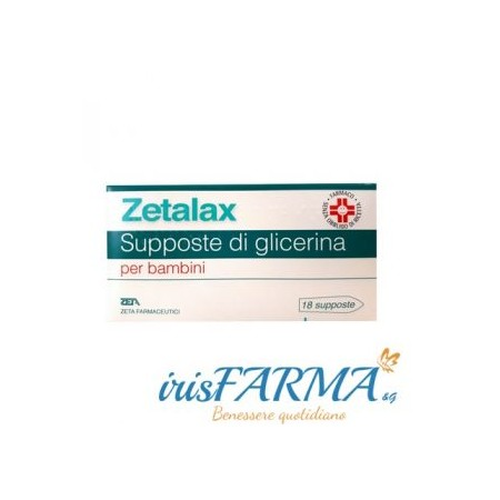 SUPPOSITOIRES ZETALAX GLYCEROL ENFANTS 18