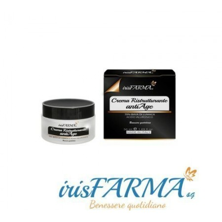 Snail slime cream 70% Irisfarma 50ml