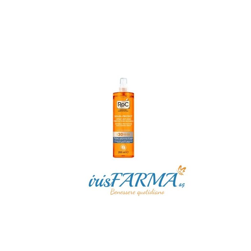 Roc 30 Lait Solaire Spray Invisible 200 ml
