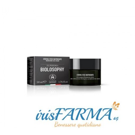 Euphidra Biolosophy crema nutriente viso 50ml