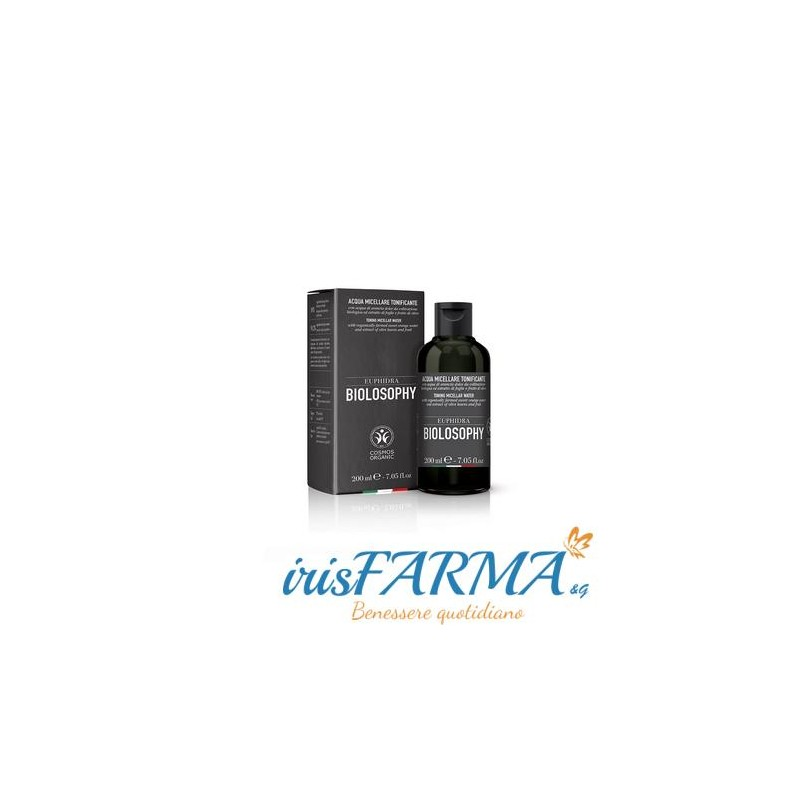 Euphidra Biolosophy eau micellaire tonifiante 200 ml
