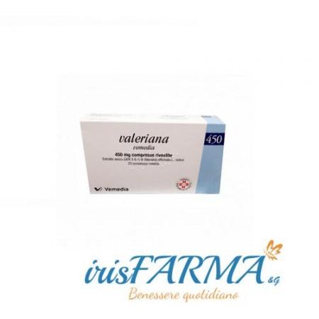 Valeriana vemedia comprimidos 20 comprimidos 450mg