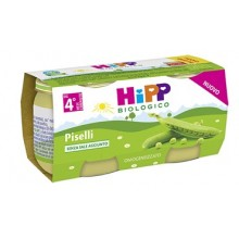 HIPP HOMOGENIZED PEAS 2X80 G
