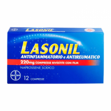 LASONIL ANTINFIAMM*12CPR 220MG