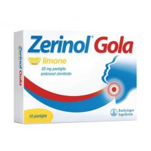 ZERINOL GOLA LIMO*18PAST 20MG