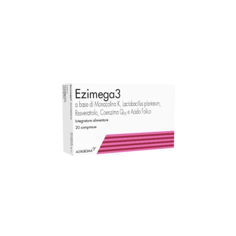 Ezimega3 Ergänzung 20 Tabletten
