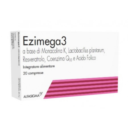 Supplément Ezimega3 20 comprimés