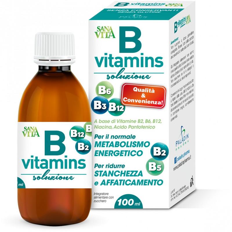 Sanavita B-Vitamins soluzione