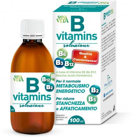Solución de vitaminas B de Sanavita