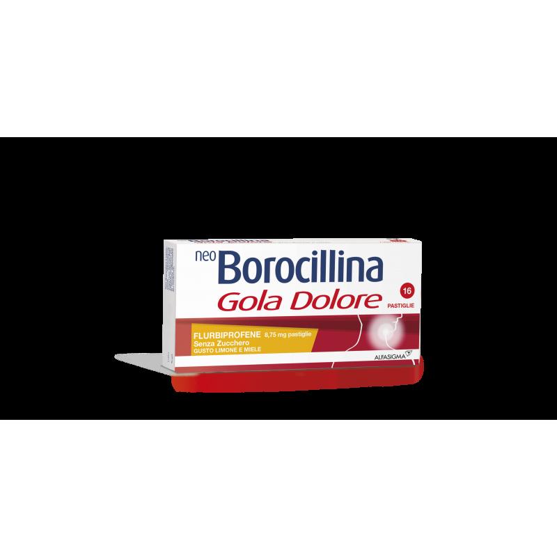 Neoborocillin Halsschmerzen Honig und Zitrone