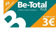 BE-TOTAL 40 COMPRESSE...