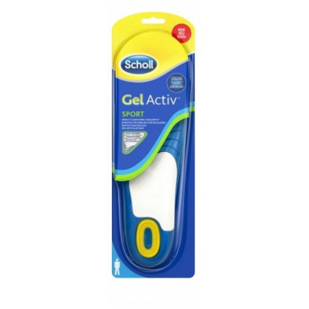 Semelles School Gel Active Man