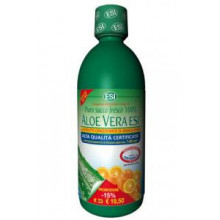 Aloe vera with 1L blood orange juice