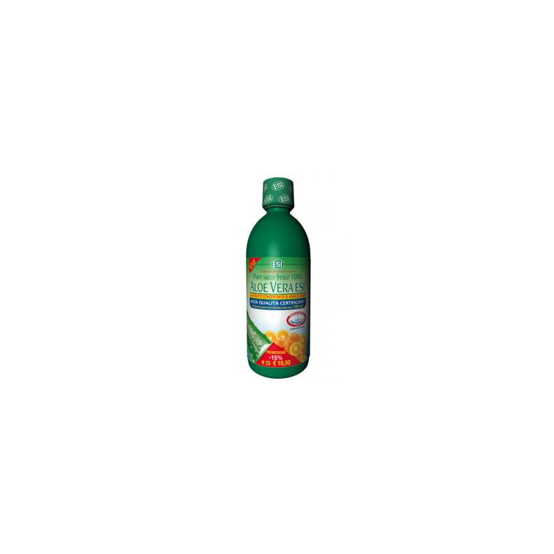 Aloe vera con 1 litro de jugo de naranja sanguina