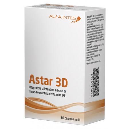 Astar D3 60 gélules molles