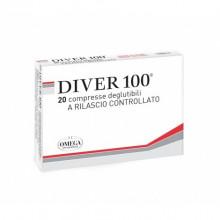 DIVER 100 20 COMPRIMÉS