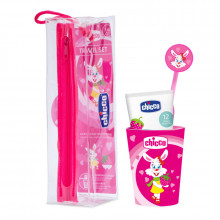CHICCO SET ORAL CARE PINK...